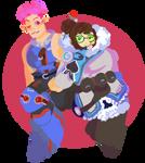 Zarya and Mei