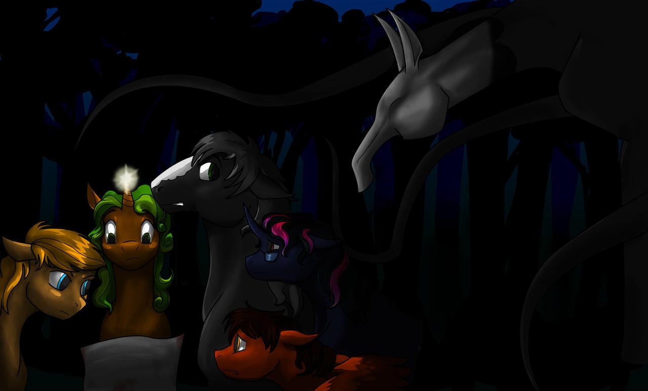Slender Pony by LemmingBot