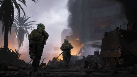 Battle of Hue 1968 by WlNDFURY