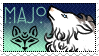 Toko Stamp: Majo by IronclawsAndPaws