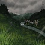 Rainy Valley Fishing