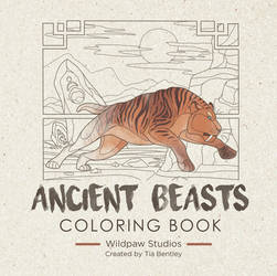 Ancient Beasts: Coloring Book