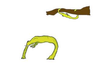 Hunchbacks, bizarre creatures of future by jastrebkokosar