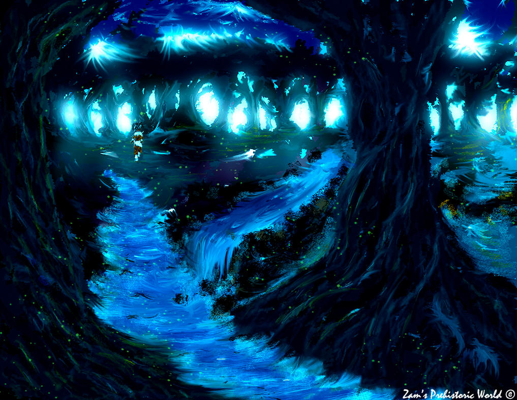 Fae Forest, Zam's Realm by wolfshire