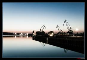 dortmund harbour -2 by pandemic-artwork