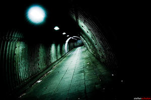 tunnel in duisburg by pandemic-artwork