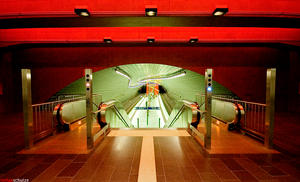 subway station bochum-lohring by pandemic-artwork