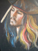 Captain Jack Sparrow by NovemberAurora