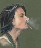 Johnny Depp by NovemberAurora