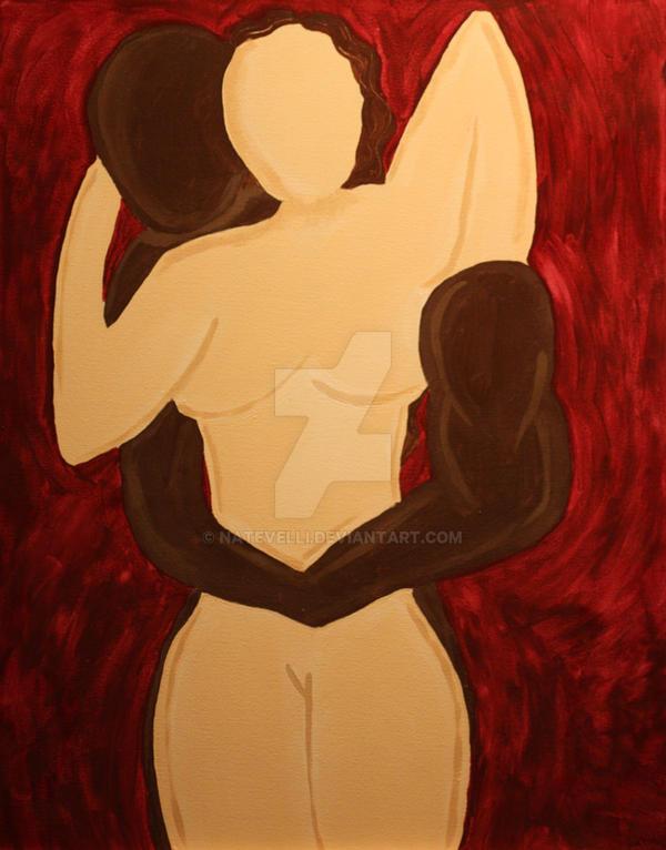 Black Man White Women by natevelli