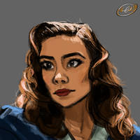 Agent Carter by BubbleMonsterXI