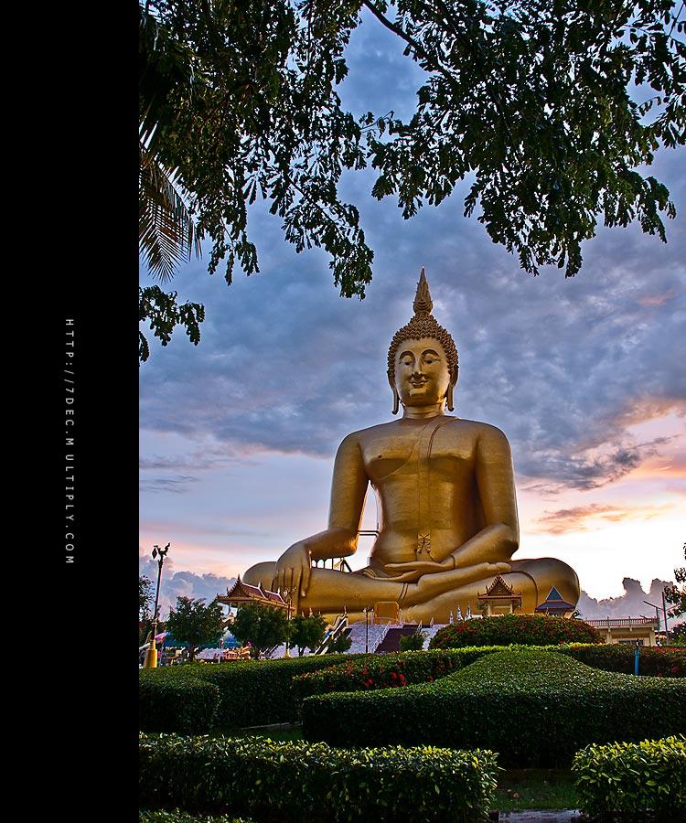 Buddha in thailand 5 by 7dec