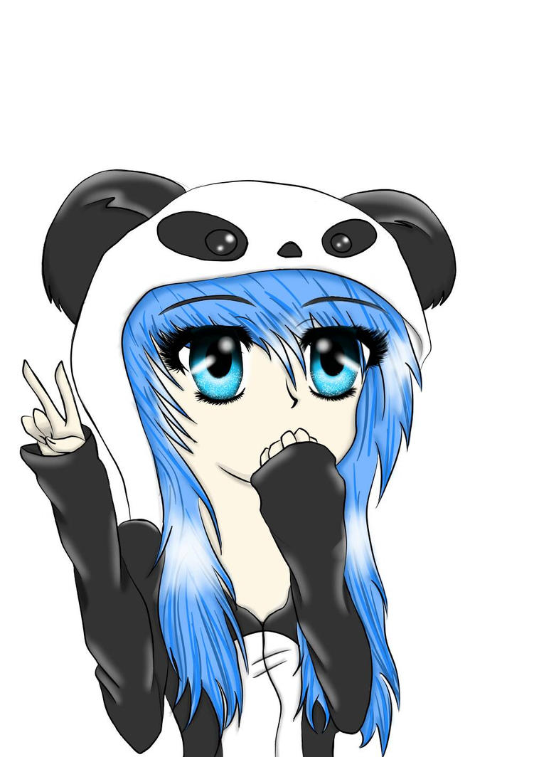 anime panda girl hoodie wwwpixsharkcom images