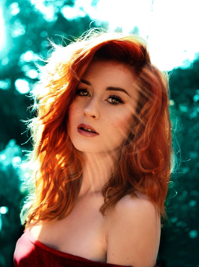 redhead by JokerLolibel