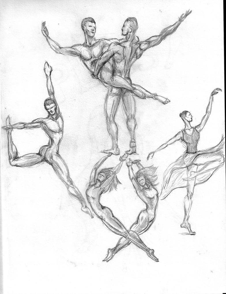 Dancers by lavendertiger