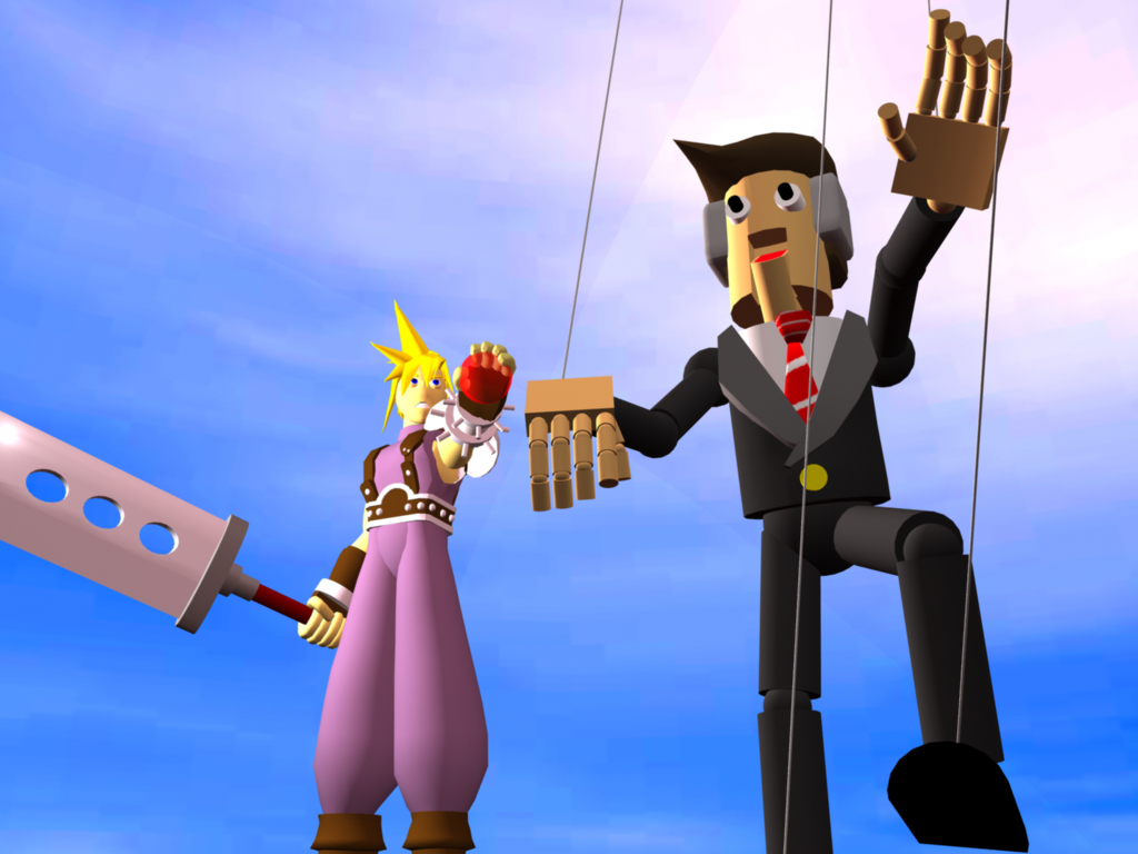 Cloud and the Politician 2