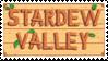 Stardew Valley Stamp by GigasGhosts
