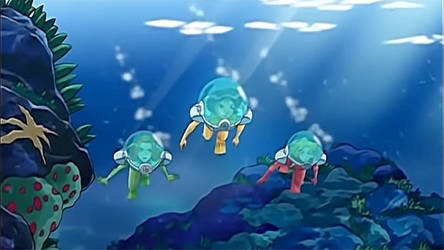 Totally Spies Scuba Diving