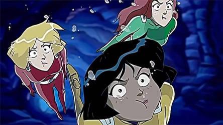 Alex, Clover, and Sam Underwater