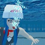 Pokemon Dawn Swimming Underwater