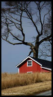 Red Barn of Life by DragonInk7