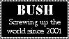 Bush by DragonInk7