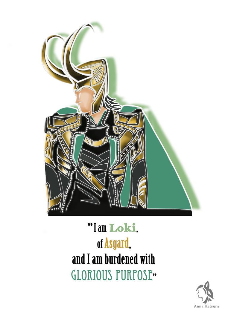 Loki by AnnaKatsura