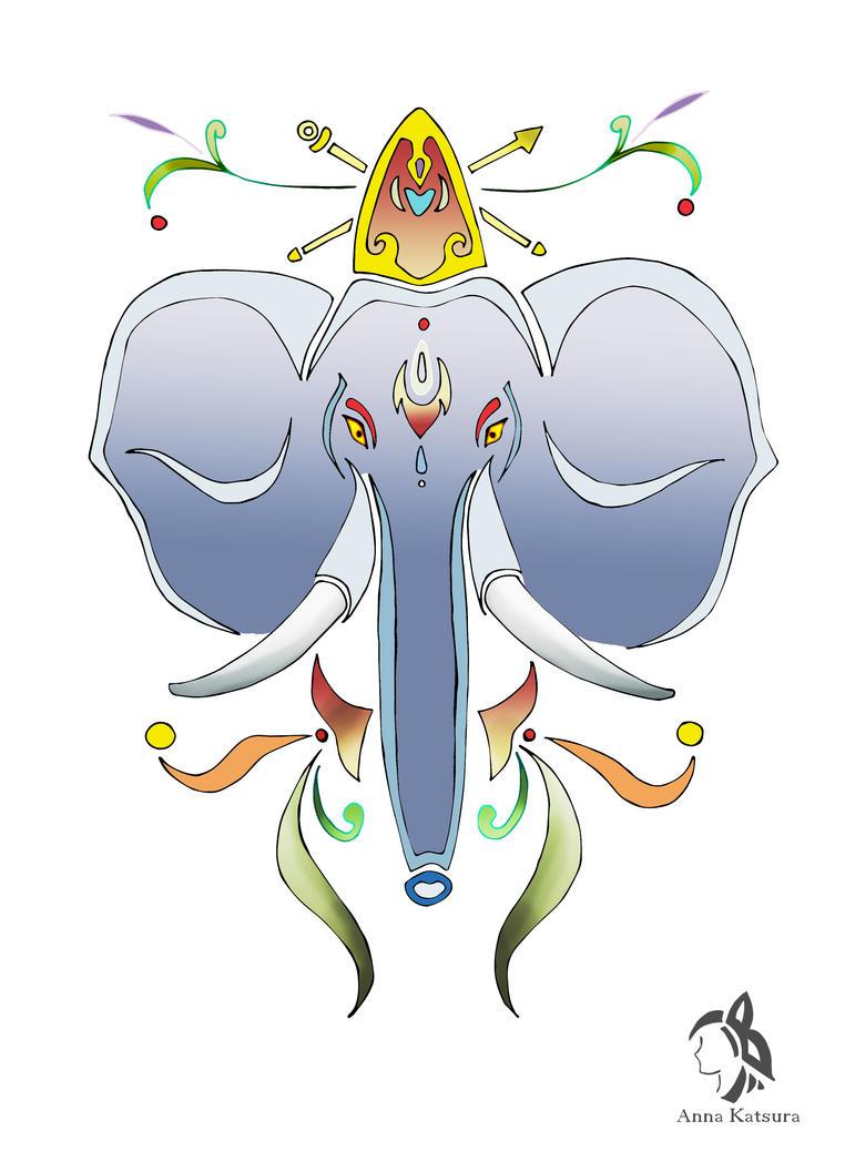 Elephant by AnnaKatsura