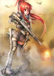 Advanced Warfare by LazyRemnant