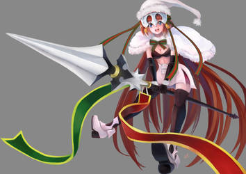 Commission: Alter Santa Lily's costume by LazyRemnant