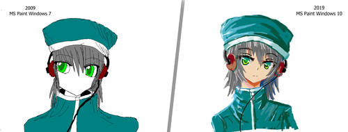My MS Paint #10yearschallenge by LazyRemnant