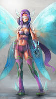 Commission: Fairymon/Kazemon