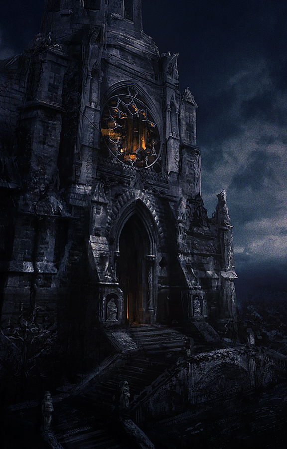 Destroyed Cathedral Exterior