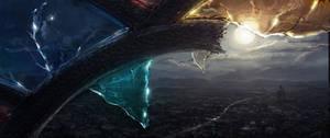 Speedpaint: City at Night