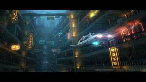 Hyper York: Underground Chinatown by inetgrafx