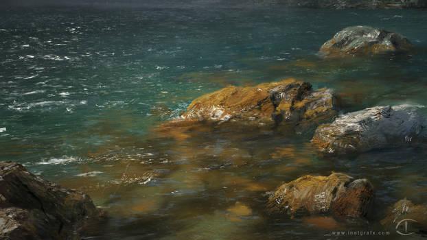 Rocks in Water - Verve Study