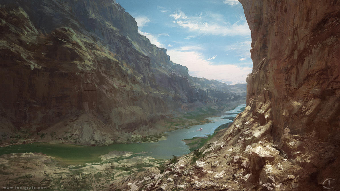 Canyon - Verve Study by inetgrafx