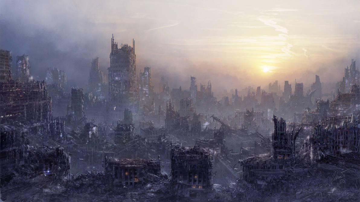 Environment: POST-APOCALYPSE by inetgrafx
