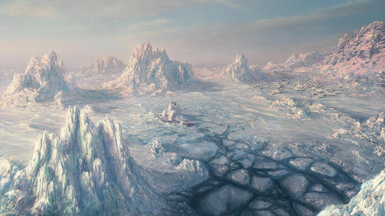 Campos Congelados Environment__ice_scape_by_i_netgrafx