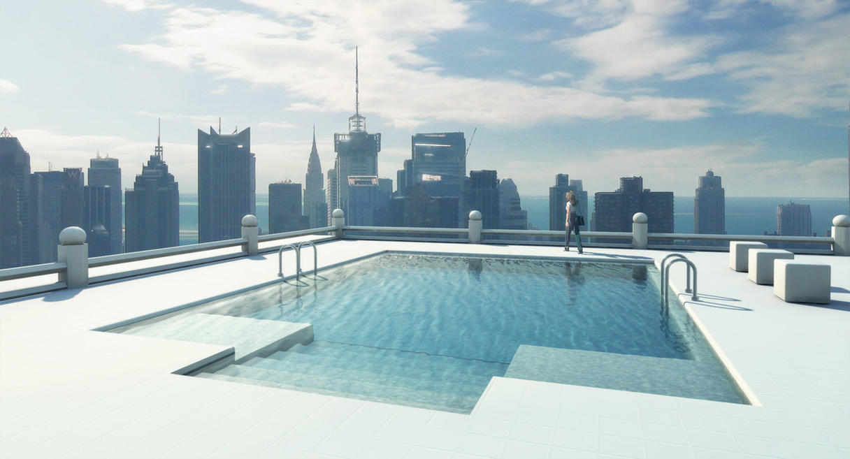 Mental Ray Sky Pool By Inetgrafx On Deviantart