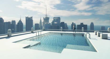 Mental Ray: Sky Pool