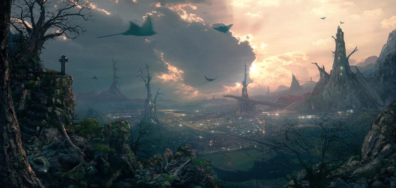 Environment: Deadwood by inetgrafx