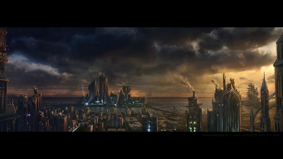Environment: Gothic Industrial by inetgrafx