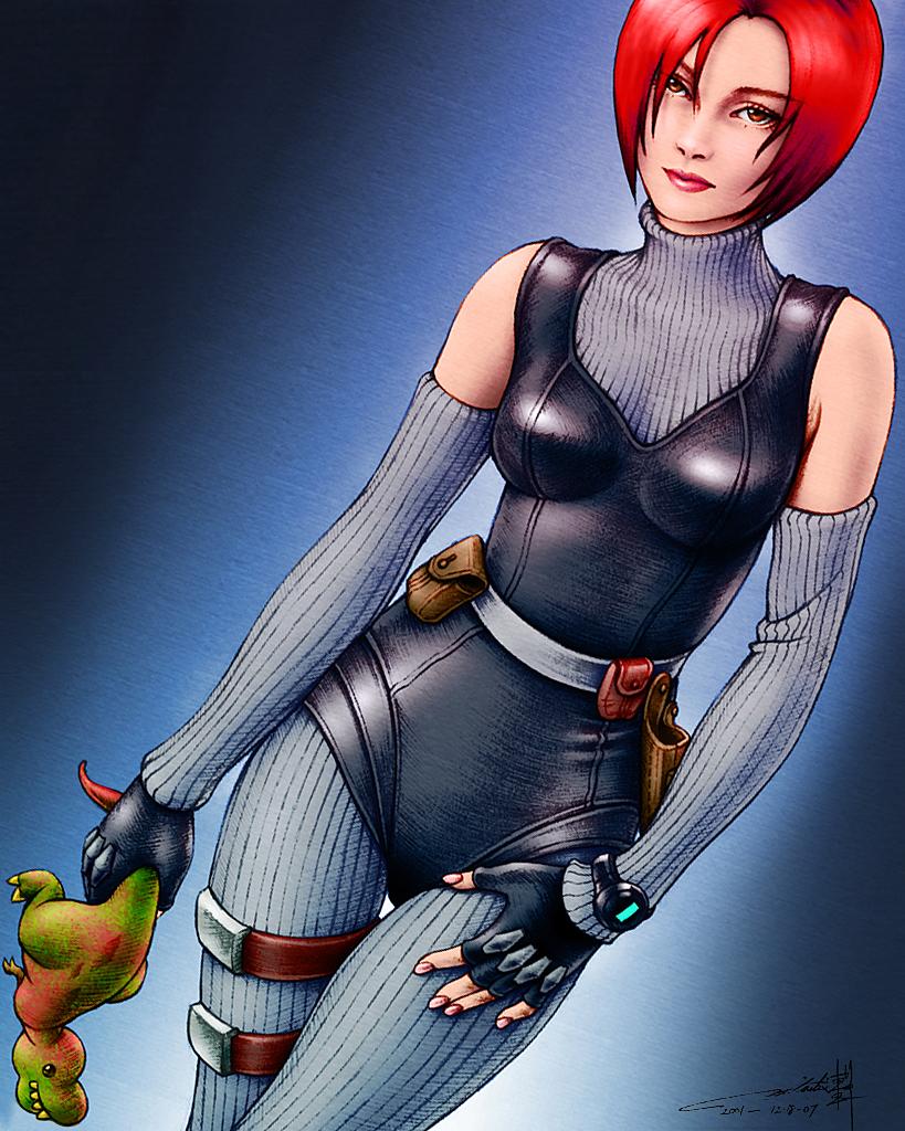 Dino Crisis: Regina by hinxlinx