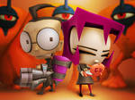 Invader Zim: Dib and Gaz