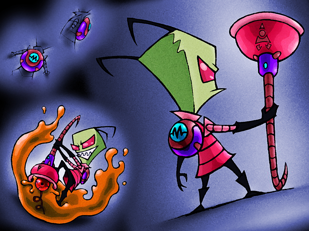 Invader Zim: Plunger of Dooom by hinxlinx