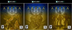 Arena - Box Art Design Triptych by hinxlinx