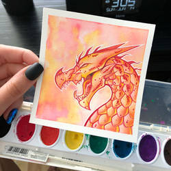 Crayola Dragon Test