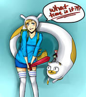 Adventure Time: Fionna by Cheese3D