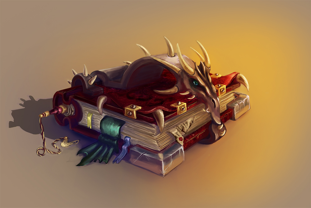 Dragon Book by Misava